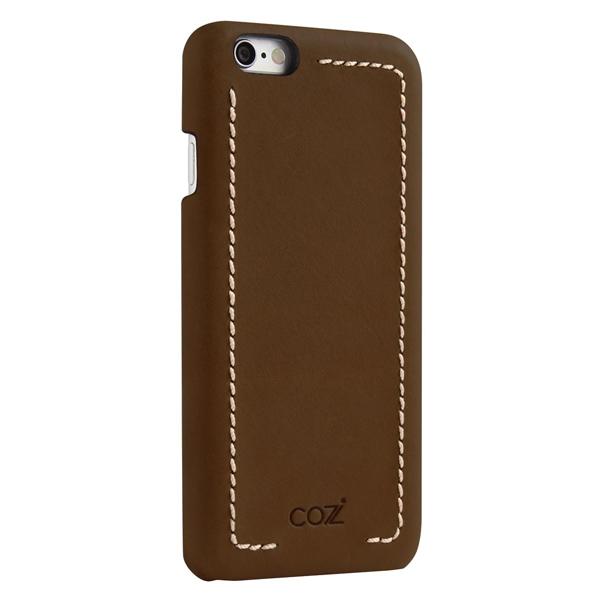 цена на Накладка Cozistyle Leather Wrapped Case для iPhone 6S Plus коричневый CLWC6+012