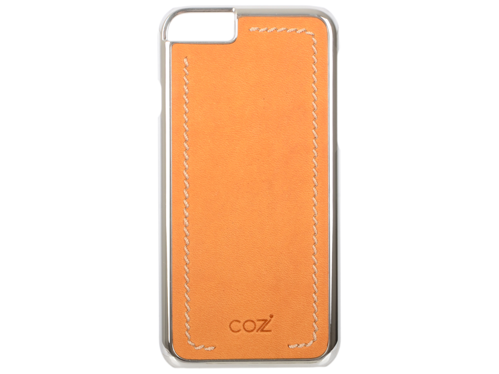 все цены на Чехол Cozistyle Leather Chrome Case для iPhone 6s серебристо-коричневый CLCC6018 онлайн