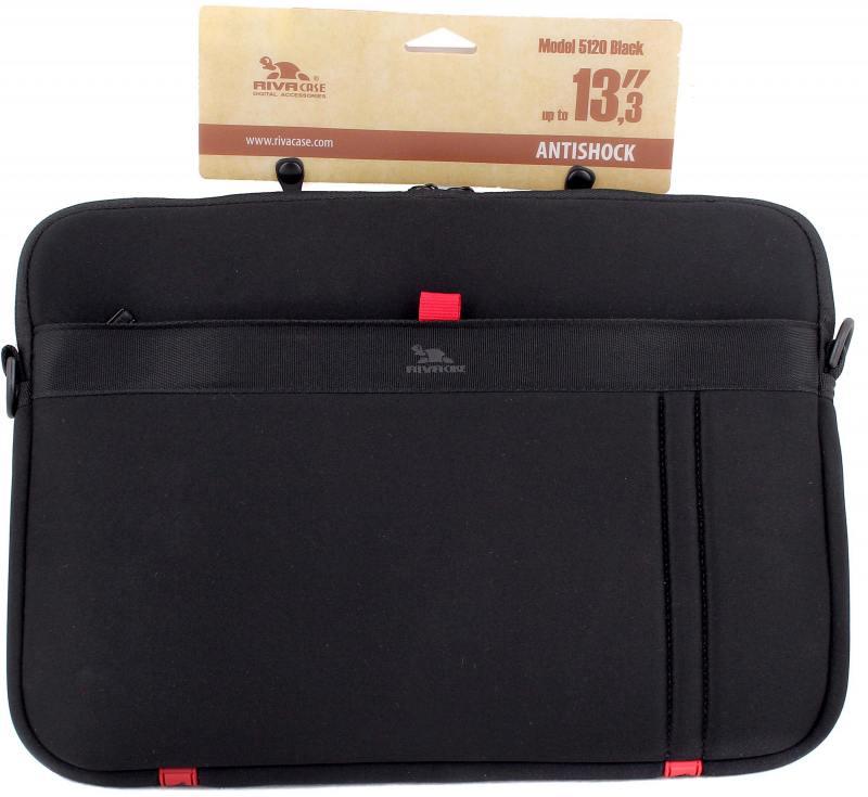 Сумка для ноутбука 13 Riva 5120 полиэстер черный