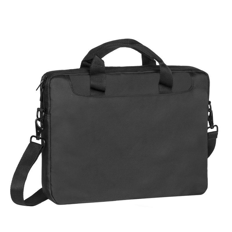 Сумка для ноутбука 15 Riva 8033 полиэстер черный