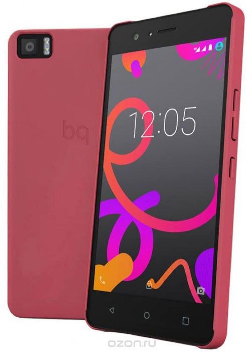 купить Чехол BQ для BQ Aquaris M5 красный E000596 недорого