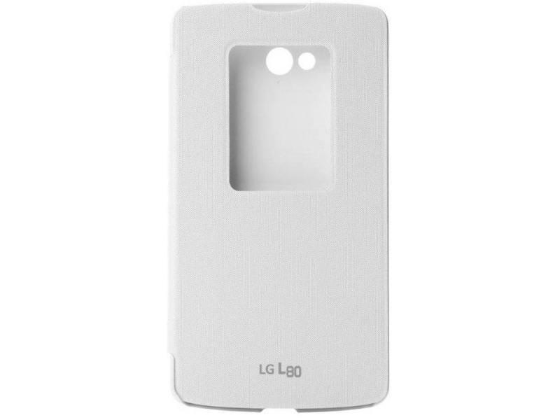 цена Чехол LG CCF-510.AGRAWH для LG L80 белый