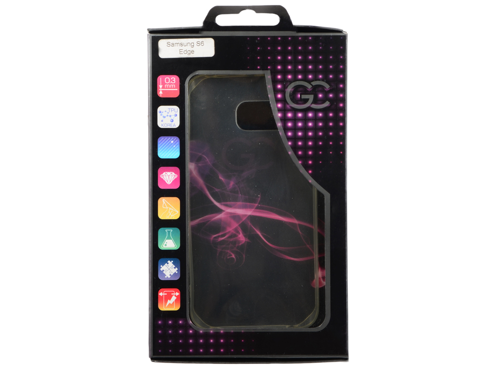 Чехол для Samsung Galaxy S6 Edge AUZER GSGS 6 E TPU чехол для для мобильных телефонов kuba iphone 5 6 samsung s4 s5 s6 htc m7 m8 lg g3 0 3 tpu case