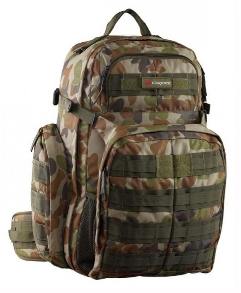 Фото - Рюкзак ортопедический Caribee Op's Pack 50 л разноцветный 64351 рюкзак ортопедический caribee hot shot 8 л малиновый