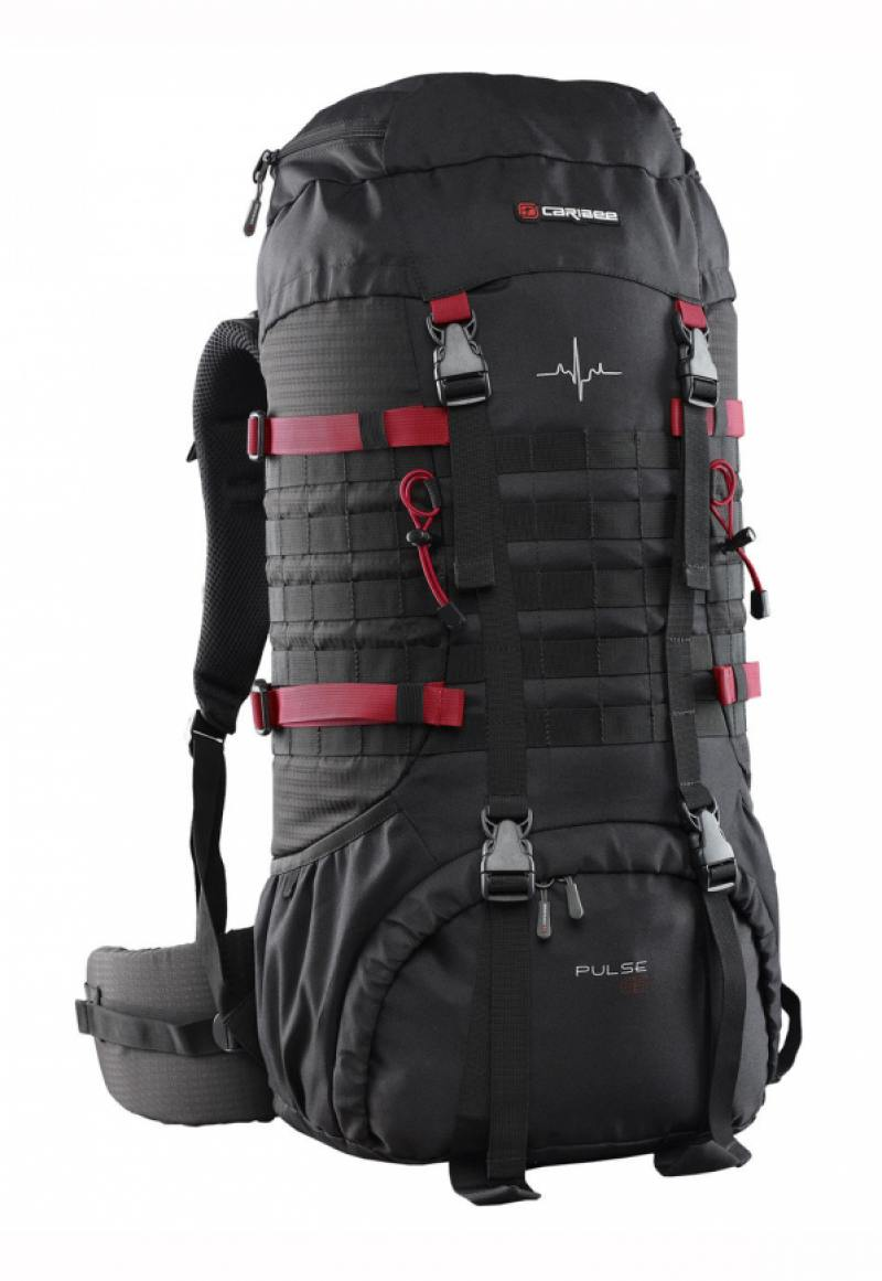 Рюкзак Caribee Pulse 65 л черный 6612 рюкзак bestway 68033 65 л flexair