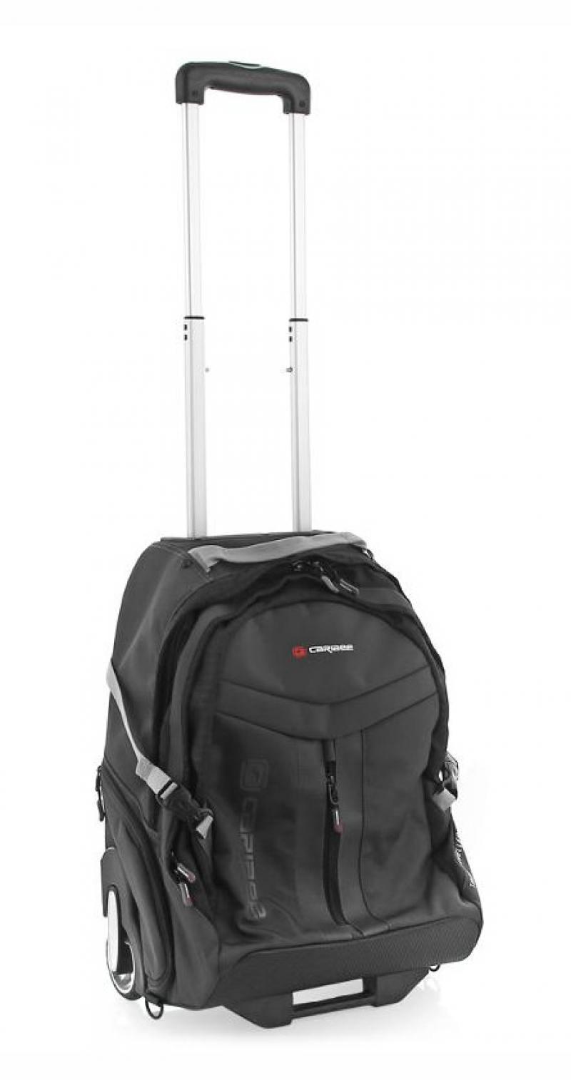 Рюкзак на колесах Caribee Time Traveller 35 л черный 6813