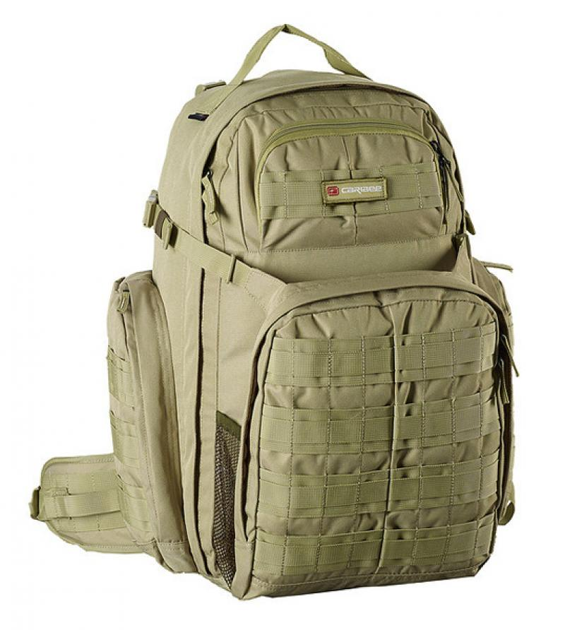 Фото - Рюкзак ортопедический Caribee Op's Pack 50 л зеленый 64352 рюкзак ортопедический caribee hot shot 8 л малиновый