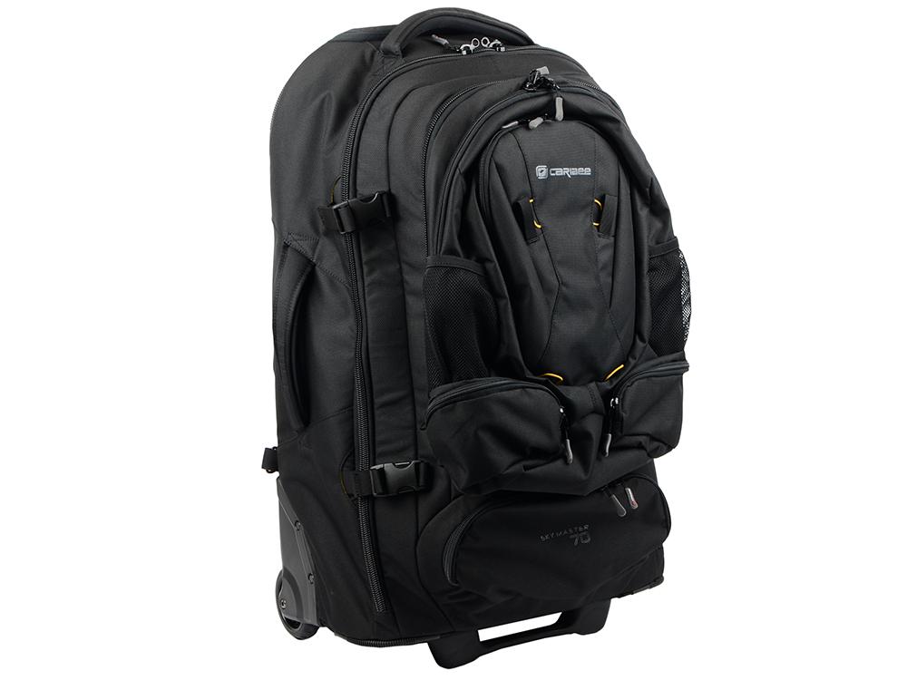 Рюкзак на колесах Caribee Sky Master 70 л черный 6918 рюкзак caribee pulse 65 л черный 6612