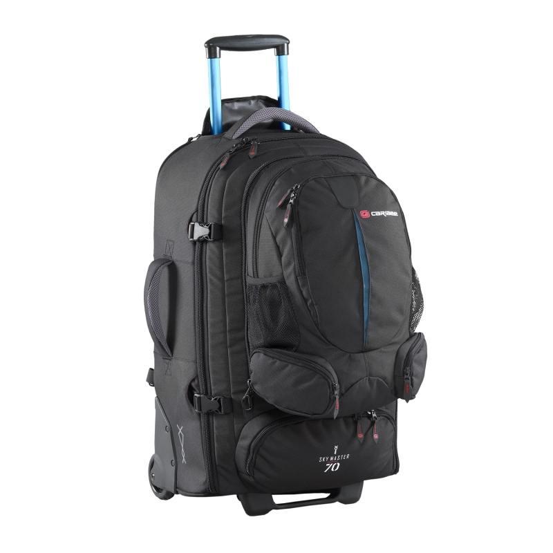 Рюкзак на колесах Caribee Sky Master 70 л черный 6918 рюкзак caribee trek цвет черный 32 л