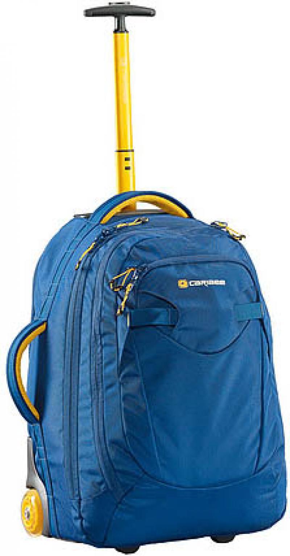 Рюкзак на колесах CARIBEE Fast Track 45 л голубой