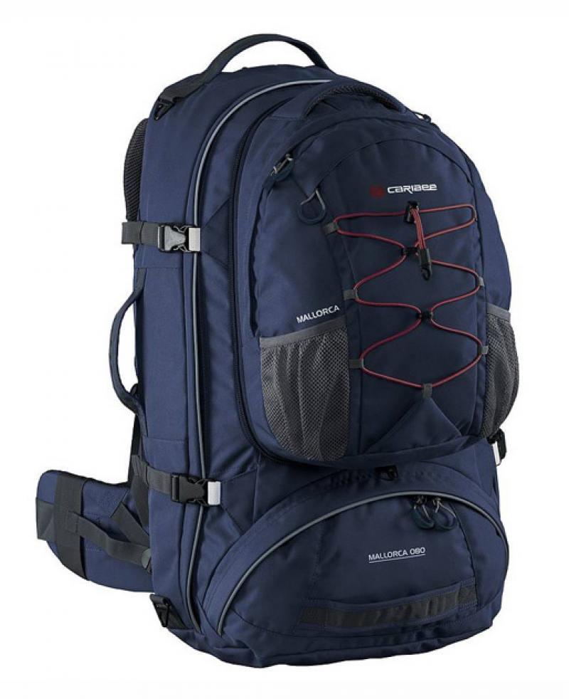 Рюкзак с анатомической спинкой Caribee Mallorca 70 л синий 69361