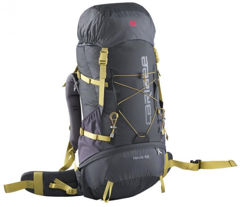 Рюкзак с анатомической спинкой Caribee Nevis 65 л серый 6608 рюкзак caribee trek цвет черный 32 л