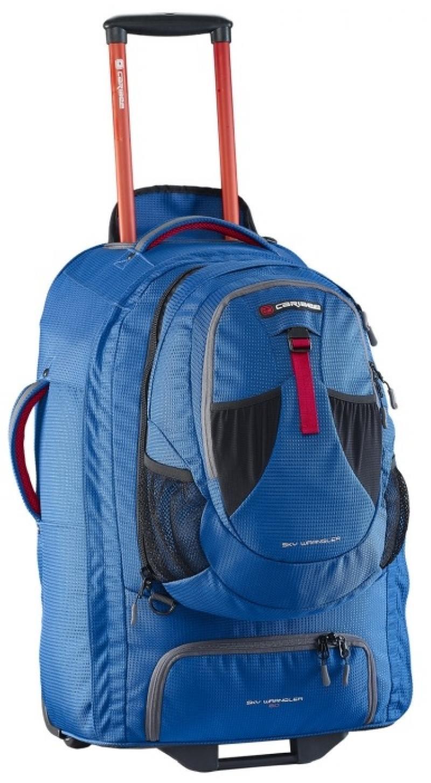 Рюкзак на колесах Caribee Europa 60 л голубой 6824