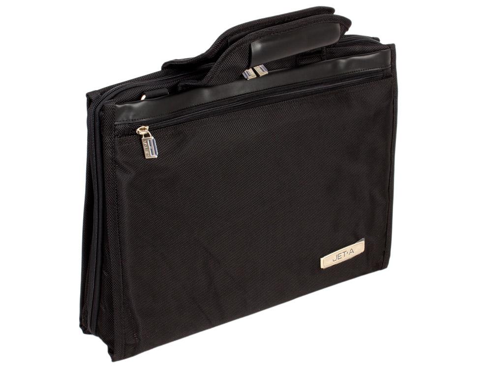 Сумка для ноутбука Jet.A LB15-50 до 14  (Чёрный , качественный нейлон/полиэстер) сумка для ноутбука jet a lb11 14 до 11 6 черная lb11 14