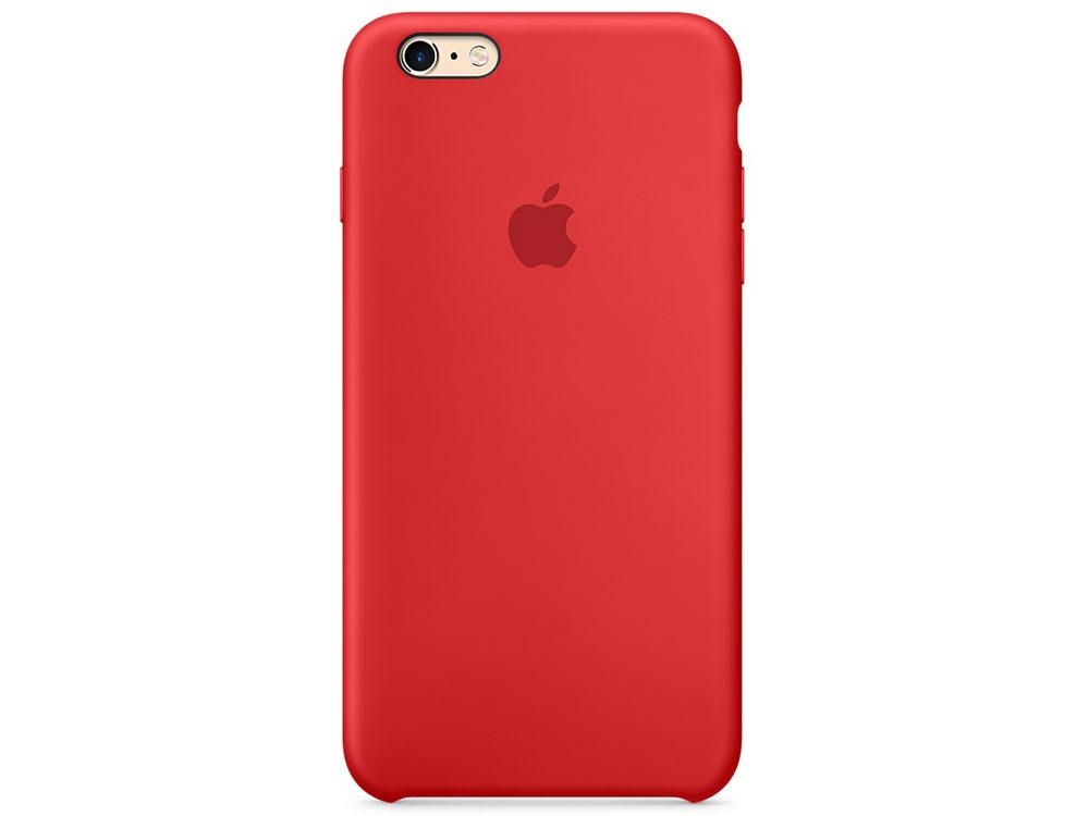 цена на Чехол (клип-кейс) Apple Silicone Case для iPhone 6S красный MKY32ZM/A
