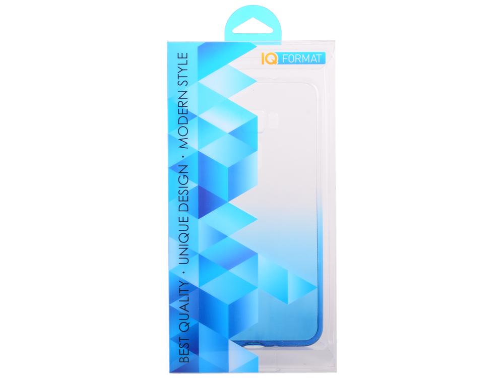 Крышка задняя для ASUS Zenfone 3 (ZE552KL) 5.5' Силикон Синий