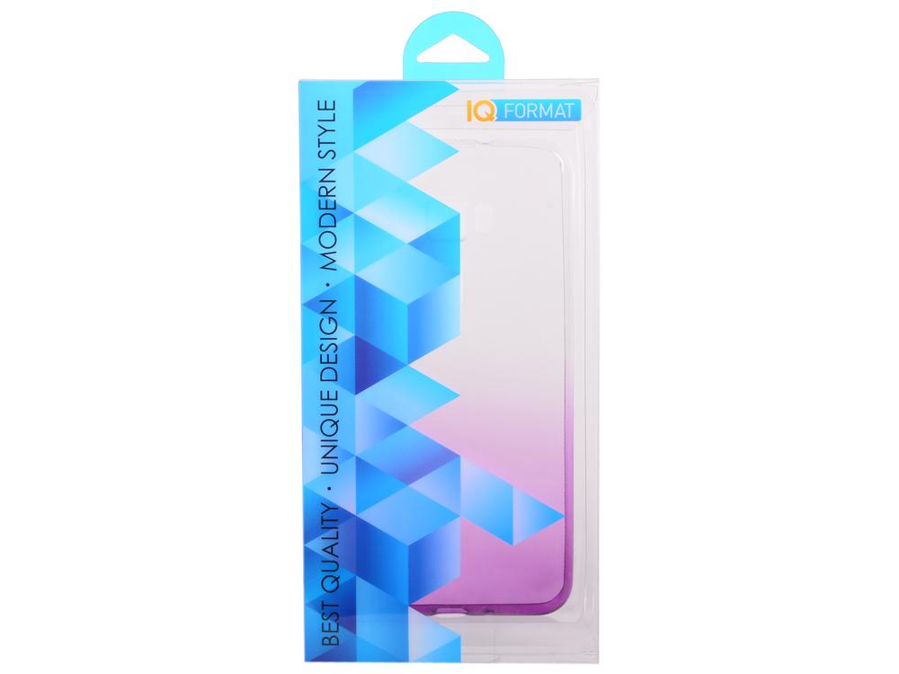 Крышка задняя для ASUS Zenfone 3 (ZE552KL) 5.5' Силикон Фиолетовый