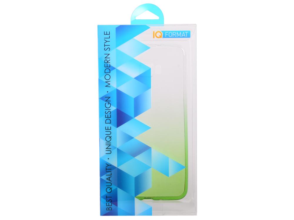Крышка задняя для ASUS Zenfone 3 (ZE552KL) 5.5' Силикон Зелёный