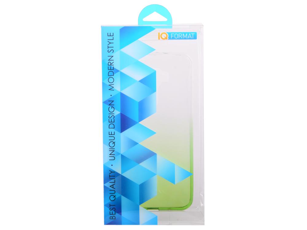 Крышка задняя для ASUS Zenfone 3 (ZE520KL) 5.2' Силикон Зелёный