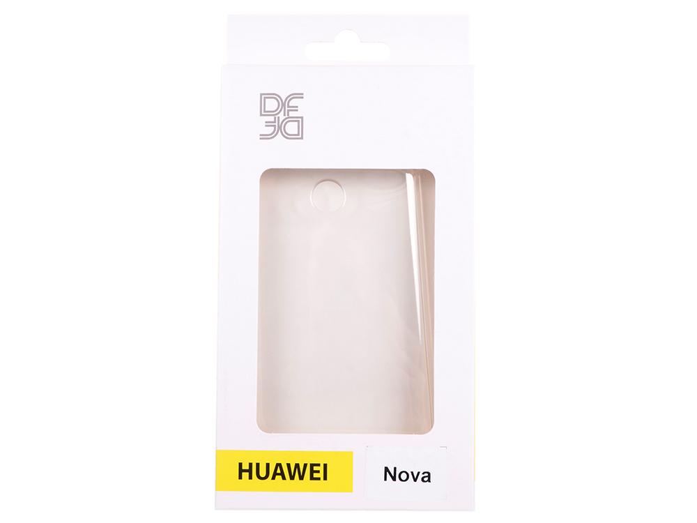 Силиконовый супертонкий чехол для Huawei nova DF hwCase-22