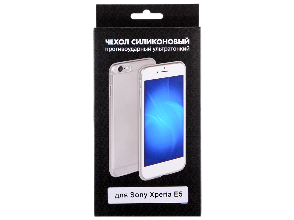 Силиконовый чехол для Sony Xperia E5 DF xCase-06 эпос sony t3 телефона sony m50w mobile shell d5103 мягкая прозрачная 5106 5102 силиконовый защитный чехол