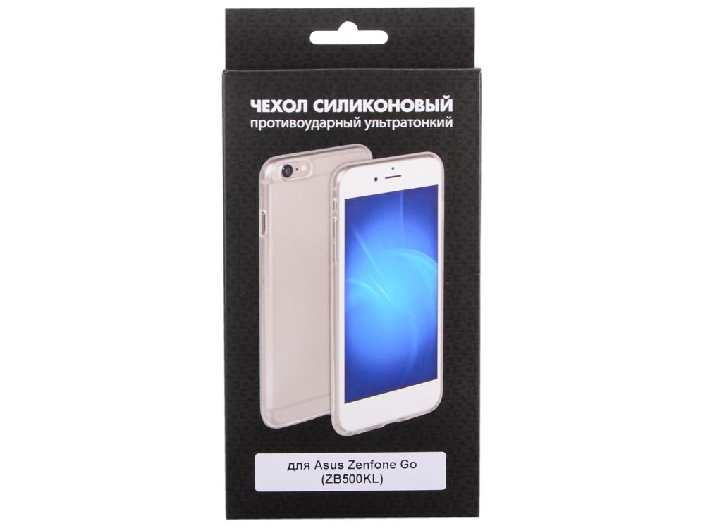 цена на Силиконовый чехол для Asus ZenFone Go (ZB500KL) DF aCase-27