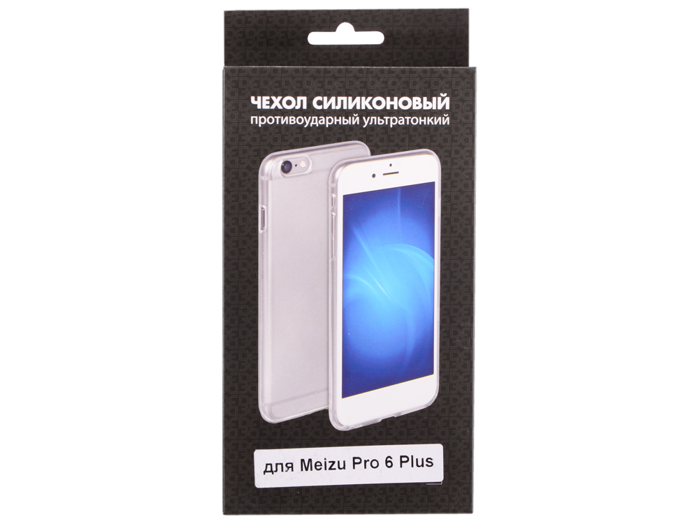 Силиконовый чехол для Meizu Pro 6 Plus DF mzCase-14