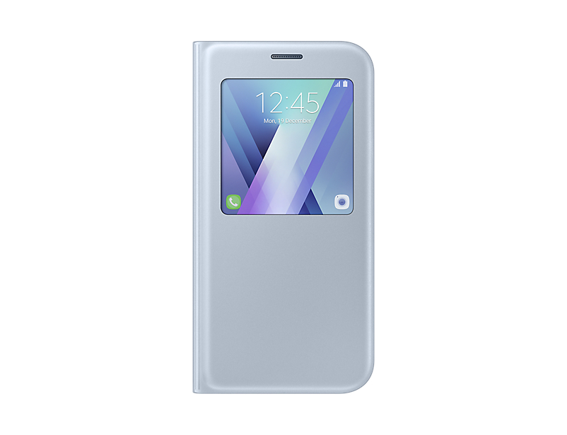 Чехол Samsung EF-CA720PLEGRU для Samsung Galaxy A7 2017 S View Standing Cover синий