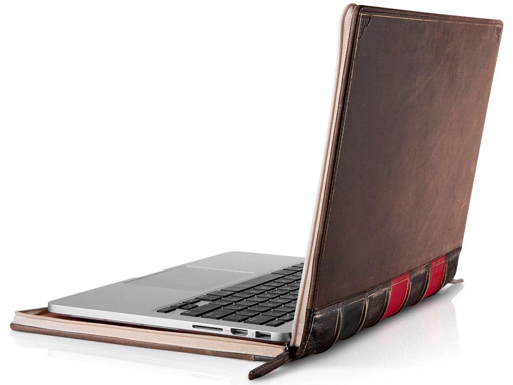 Чехол для ноутбуков Apple Macbook Pro Retina 15 Twelve South BookBook кожа черный 12-1231 аксессуар чехол twelve south bookbook leather для apple ipad pro 12 9 brown 12 1750