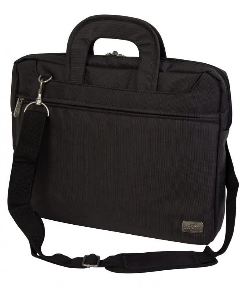 Cумка для ноутбука 15.6 PC Pet PCP-Z9115N нейлон черный сумка для ноутбука pc pet pcp a9015bk