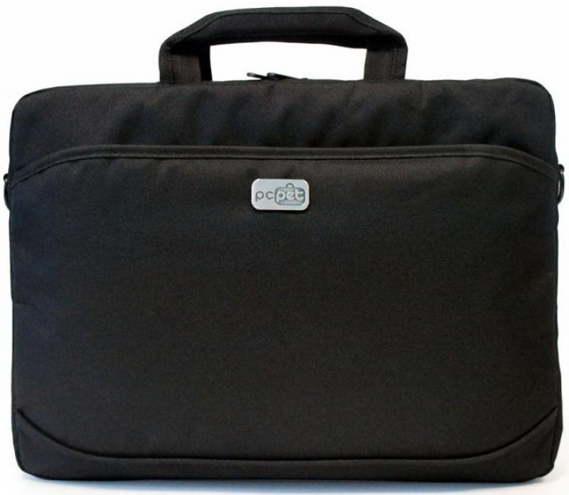 Сумка для ноутбука 15.6 PC Pet 600D PCP-A1315BK нейлон черный сумка для ноутбука pc pet pcp a9015bk