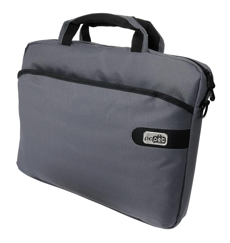 Cумка для ноутбука 15.6 PC Pet 600D PCP-A1215GY нейлон серый сумка для ноутбука 15 6 pc pet pcp l7007 нейлон бежевый