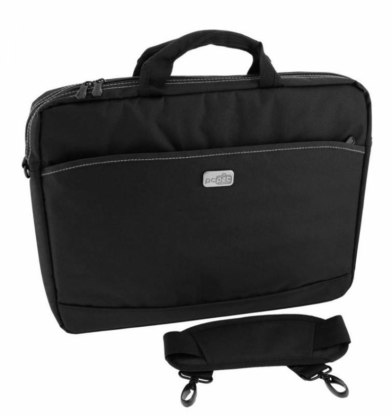 Cумка для ноутбука 17 PC Pet PCP-A1317BK нейлон черный сумка для ноутбука pc pet pcp a9015bk