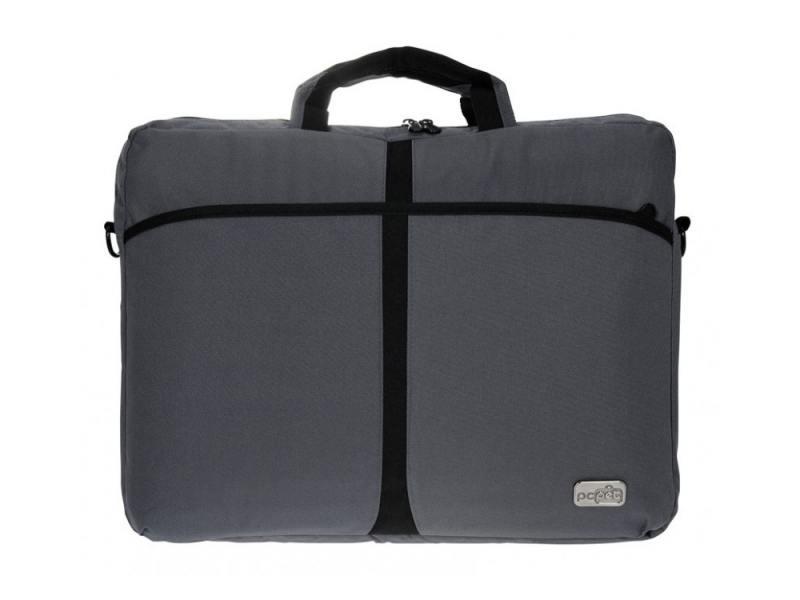 Сумка для ноутбука 17 PC Pet PCP-A1317GY нейлон серый сумка для ноутбука pc pet 15 6 pcp 1001rd черный pcp 1001rd