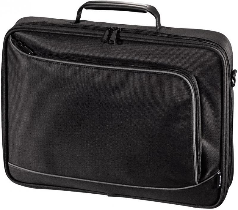 Сумка для ноутбука 15.6 Hama Sportsline Bordeaux черно-серый полиэстер 101093 сумка для ноутбука 17 3 hama sportsline bordeaux черно серый полиэстер 101094