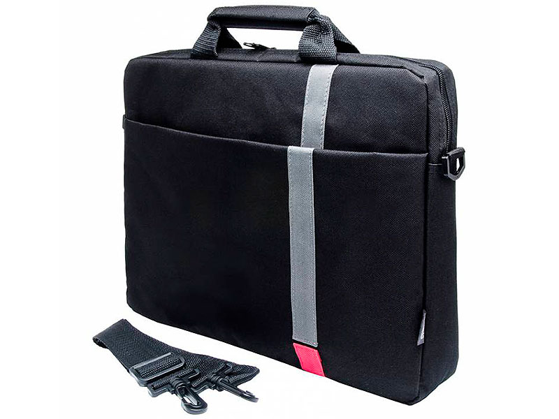 Cумка для ноутбука 15.6 PC Pet PCP-1001RD полиэстер черный сумка для ноутбука pc pet 15 6 pcp 1001rd черный pcp 1001rd