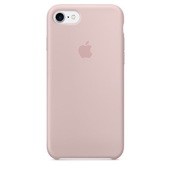 Накладка Apple Silicone Case для iPhone 7 розовый MMX12ZM/A apple apple silicone case