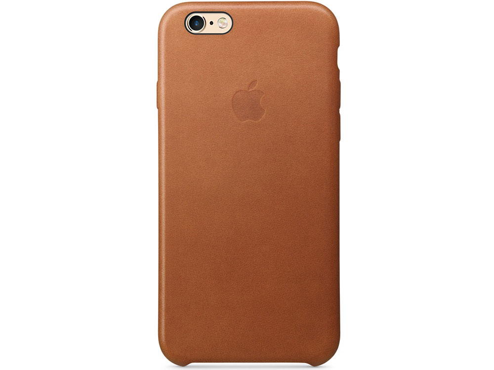 Чехол (клип-кейс) Apple Leather Case для iPhone 6 iPhone 6S коричневый MKXT2ZM/A все цены