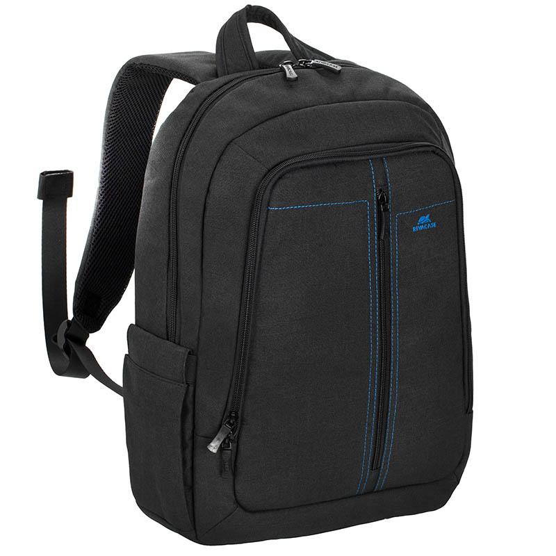 Рюкзак для ноутбука 15.6 Riva 7560 полиэстер черный riva 9101 ultraviolet