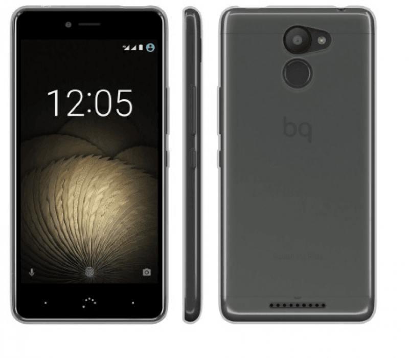 Чехол BQ для BQ Aquaris U Plus черный E000711