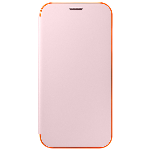 Чехол Samsung EF-FA720PPEGRU для Samsung Galaxy A7 2016 Neon Flip Cover розовый mini gsm gps tracker for kids elderly personal sos button track with two way communication free platform app alarm