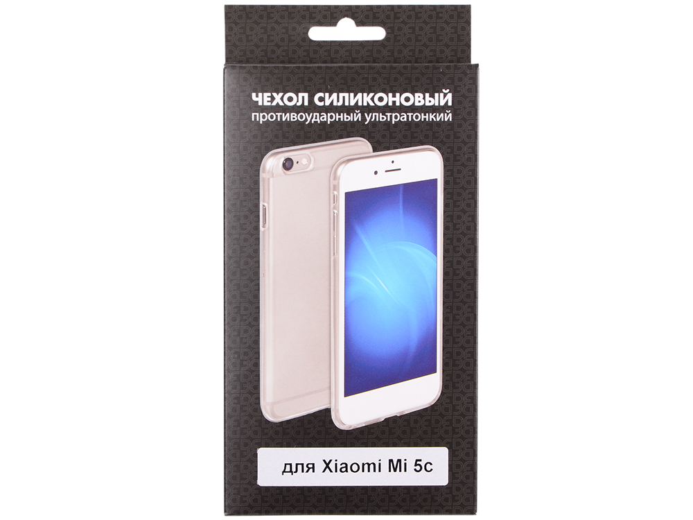 Силиконовый чехол для Xiaomi Mi 5c DF xiCase-15 xiaomi mi 5c soft screen protector transparent