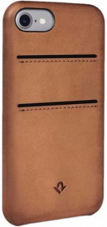 Чехол-накладка Twelve South Relaxed with pockets для iPhone 7. Материал натуральная кожа. Цвет светл twelve