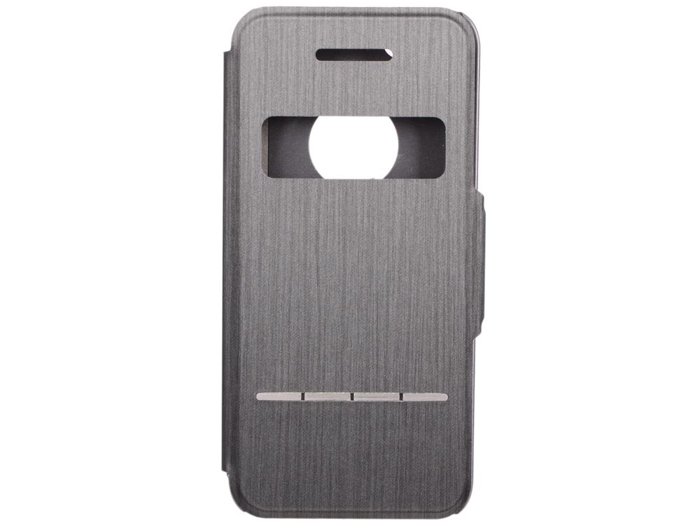 Чехол Moshi SenseCover для iPhone 5/5S из кожзаменителя. Цвет чехла: черный. чехол книжка moshi sensecover для apple iphone 6 plus 6s plus