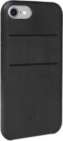Чехол-накладка Twelve South Relaxed with pockets для iPhone 7. Материал натуральная кожа. Цвет черны чехол накладка twelve south relaxed для iphone 7 материал натуральная кожа цвет светло коричневый