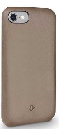 Чехол-накладка Twelve South Relaxed для iPhone 7. Материал натуральная кожа. Цвет темно-бежевый. twelve gems