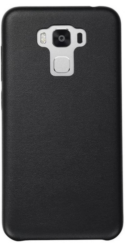 Чехол-накладка для Asus ZenFone 3 ZC553KL Asus Black клип-кейс, полиуретан, поликарбонат