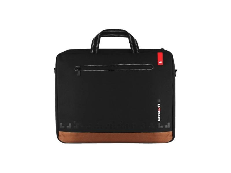 Сумка для ноутбука 15.6 Crown CMB-440 синтетика черный