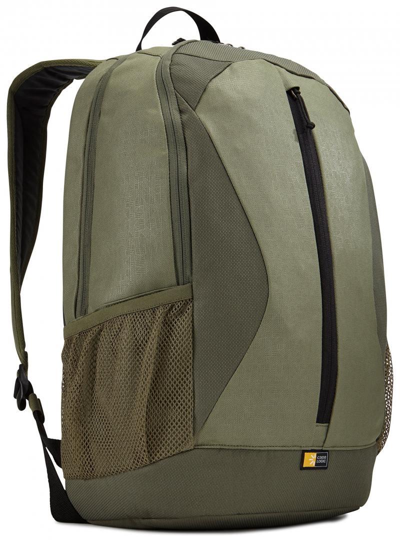 Рюкзак для ноутбука 15.6 Case Logic Ibira синтетика зеленый case logic vnb 217 black рюкзак для ноутбука 17