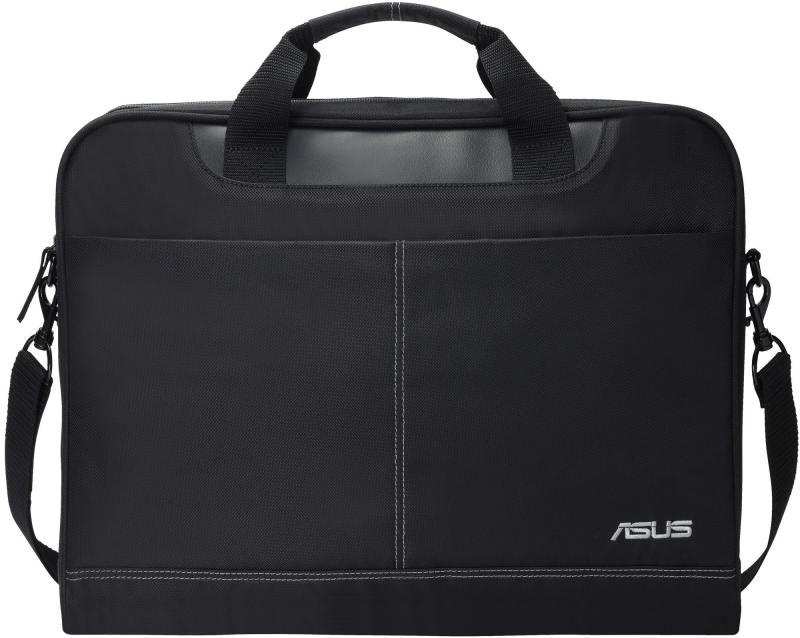 Сумка для ноутбука 16 ASUS Nereus Carry Bag 16 полиэстер черный 90-XB4000BA00010- 16 сумка для ноутбука bagspace mf 626 16gy серая